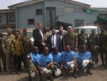 UNMIL Donates Explosive Ordinance Device Equipment to the Armed Forces of Liberia.