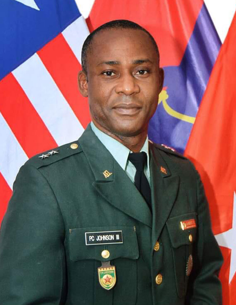 Maj. Gen. Maj. Gen. Prince Charles Johnson III